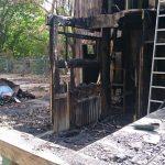Arbeitseinsatz Brandbeseitigung