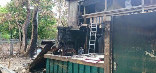 Arbeitseinsatz Brandschadenbeseitigung
