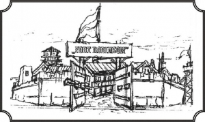Logo Abenteuerspielplatz Fort Robinson