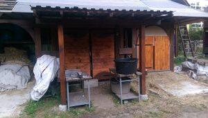 Bauarbeiten am neuen Lager
