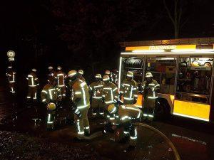 Freiwillige Feuerwehr - die ganze Truppe