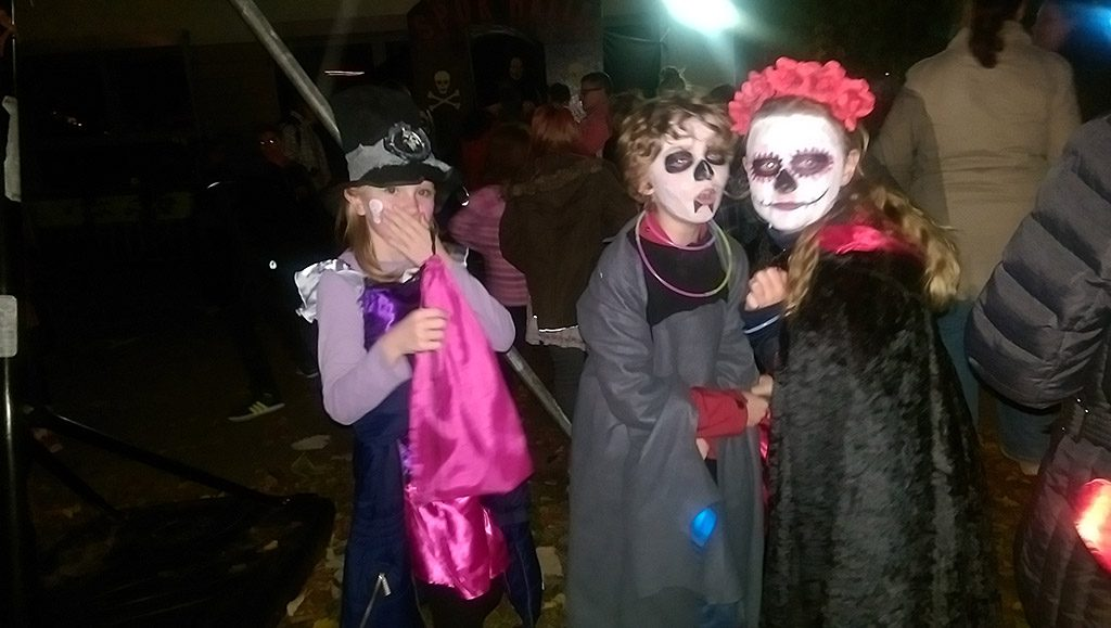 Halloween-Spektakel 2016