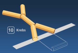 Gorodki Figur 10 Krebs