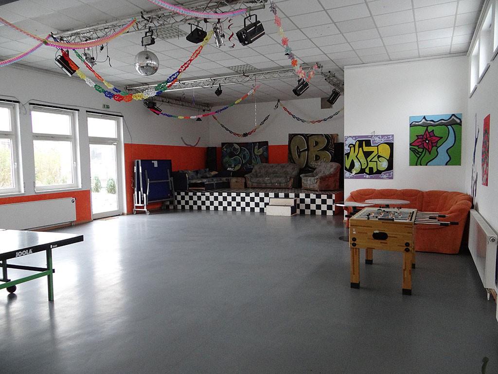 Saal Bühnenseite