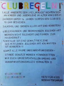 Clubregeln
