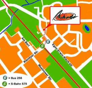 Stadtplan Mikado