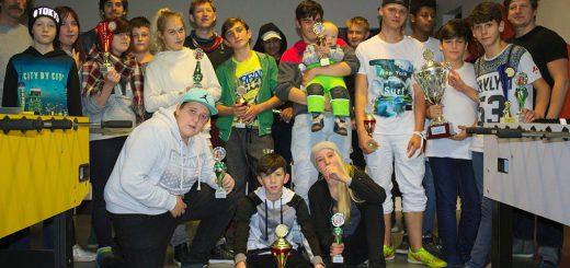 Teilnehmer Jugendkickerliga Saisonabschluss 2016