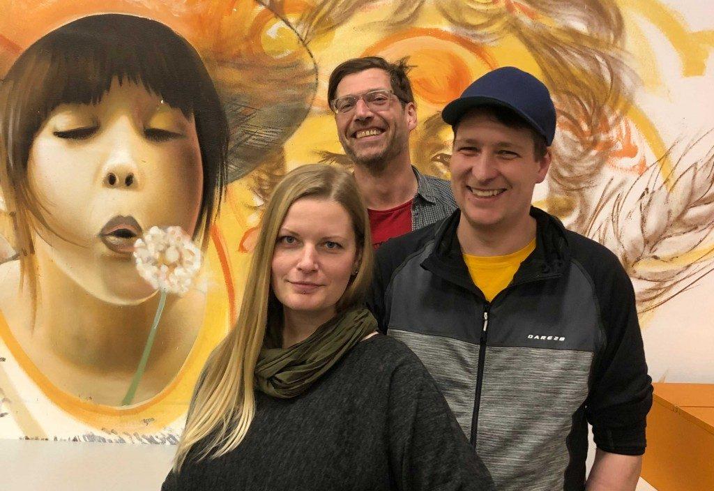 Peggy, Pierre und Marco - Das Team-Mikado