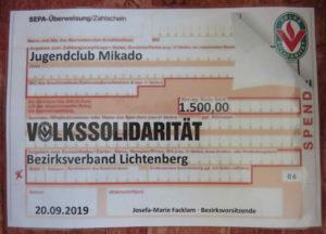 Ein Gutschein über 1500 Euro
