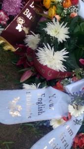 Trauerfeier für Baerbel Kissmann