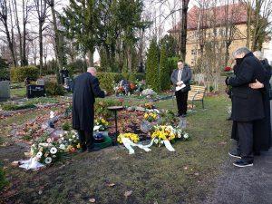 Beerdigung unseres Kollegen Willi Neumann