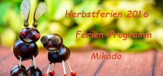 Herbsferien 2016 - Programm